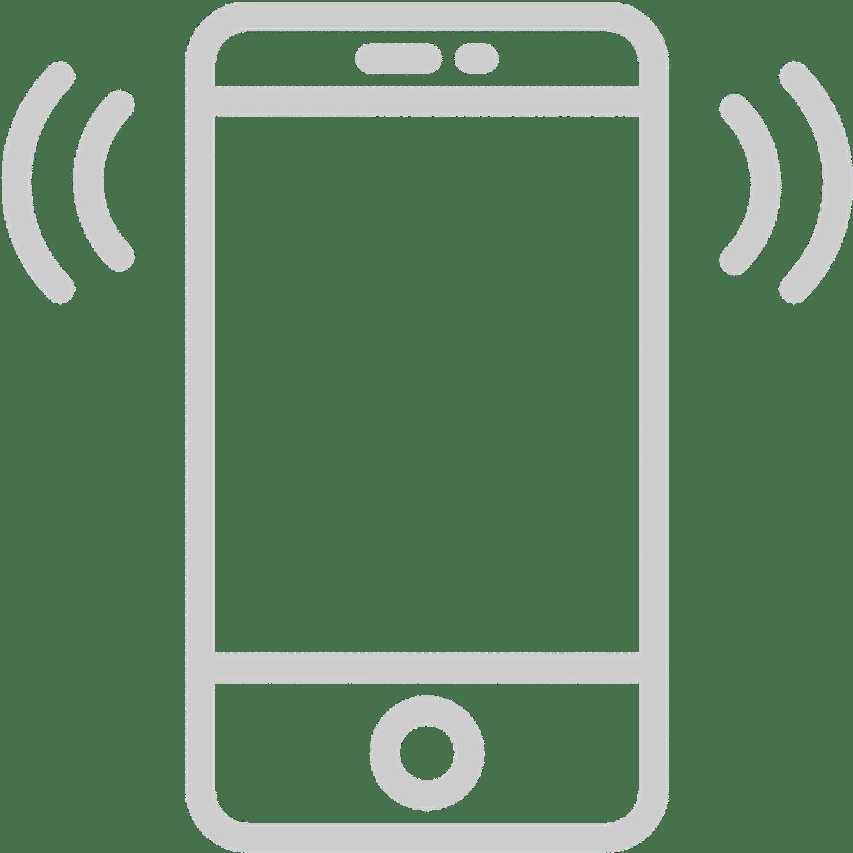 celular gris